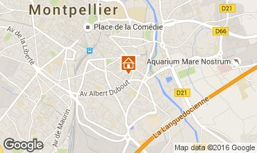 Mappa Montpellier Monolocale 102338