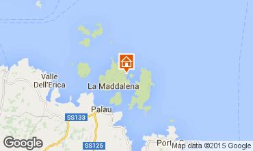 Mappa La Maddalena Monolocale 60826
