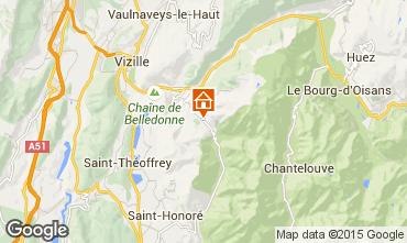 Mappa Alpe du Grand Serre Monolocale 120