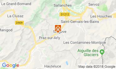 Mappa Megève Chalet 117151