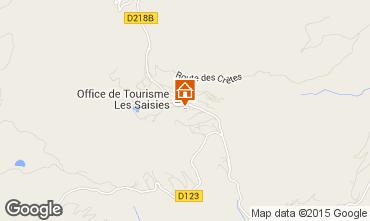 Mappa Les Saisies Appartamento 65900