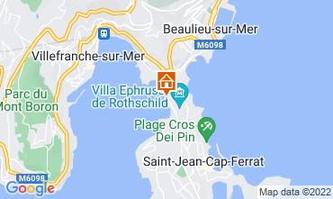 Mappa Beaulieu sur Mer Villa  113634