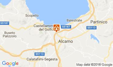 Mappa Castellammare del Golfo Villa  111636