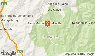 Mappa Les Menuires Appartamento 2664