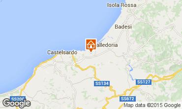 Mappa Valledoria Appartamento 95541