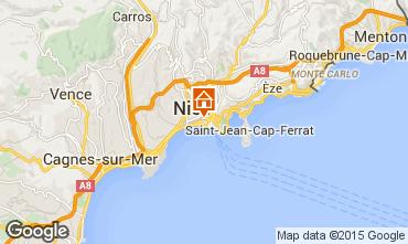 Mappa Nizza Appartamento 40225