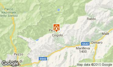 Mappa Peio (Pejo) Appartamento 74837