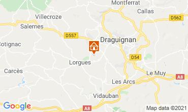 Mappa Draguignan Mulino 86770