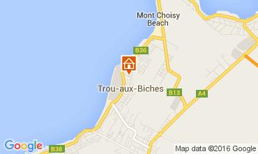 Mappa Trou-aux-biches Appartamento 82122