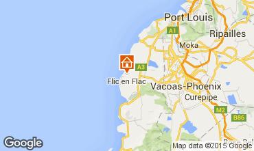 Mappa Flic-en-Flac Appartamento 92580