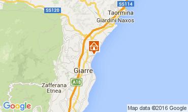 Mappa Taormina Appartamento 74835