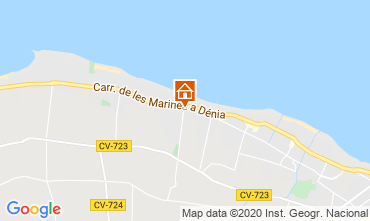 Mappa Dénia Bungalow 9706