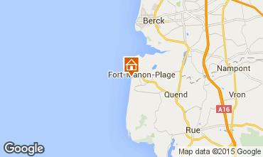 Mappa Fort Mahon Casa 66066