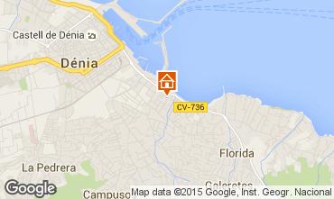 Mappa Dénia Appartamento 68366