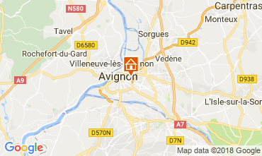 Mappa Avignone Appartamento 115919