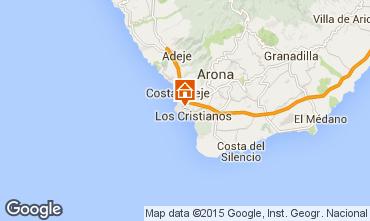 Mappa Los Cristianos Monolocale 77464