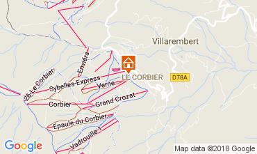 Mappa Le Corbier Monolocale 1054