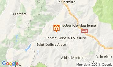 Mappa La Toussuire Chalet 52378