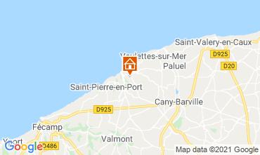 Mappa Etretat Chalet 86314