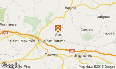 Mappa Saint Maximin la Sainte Baume Villa  94453