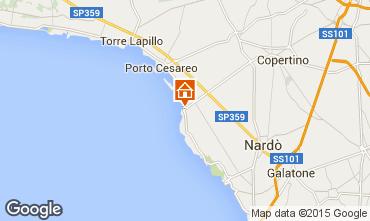 Mappa Porto Cesareo Appartamento 88464