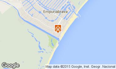 Mappa Empuriabrava Appartamento 60216
