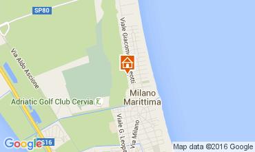 Mappa Milano Marittima Appartamento 105773