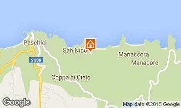 Mappa Peschici Villa  47035