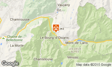 Mappa Alpe d'Huez Monolocale 58962