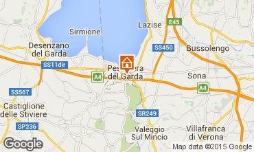 Mappa Peschiera del Garda Appartamento 99965