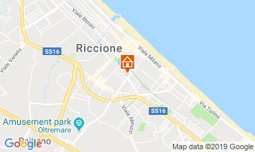 Mappa Riccione Appartamento 110471