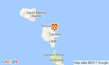 Mappa Lipari Villa  32486