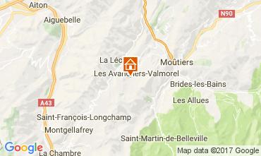 Mappa Valmorel Monolocale 111660