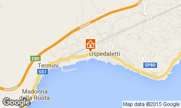 Mappa Ospedaletti Appartamento 72922