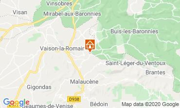 Mappa Vaison la Romaine Villa  111380