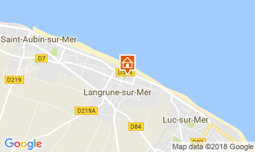 Mappa Langrune sur mer Casa 113675