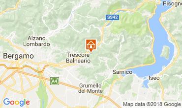 Mappa Trescore Balneario Monolocale 115377