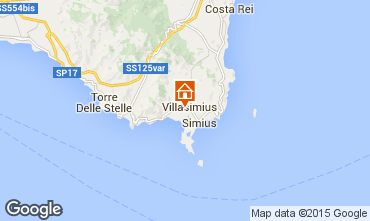 Mappa Villasimius Appartamento 60425