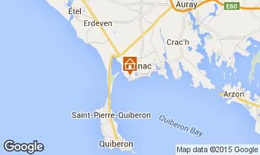 Mappa Carnac Appartamento 82528