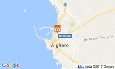 Mappa Alghero Appartamento 108789