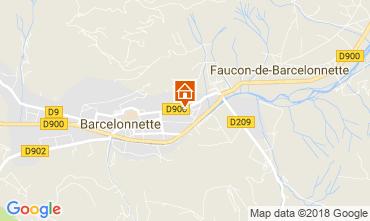 Mappa Barcelonnette Appartamento 113506
