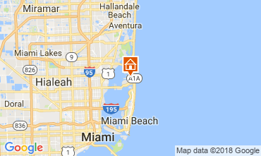 Mappa Miami Beach Villa  115572