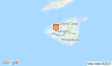 Mappa Marigot Appartamento 114553