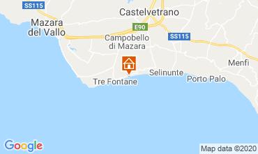 Mappa Tre Fontane Villa  92036