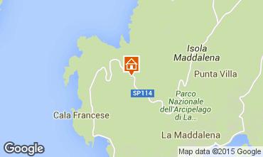 Mappa La Maddalena Villa  37144