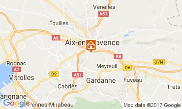 Mappa Aix en Provence Appartamento 112710