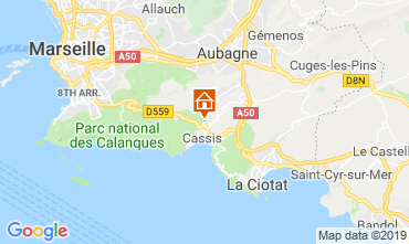 Mappa Cassis Villa  119721