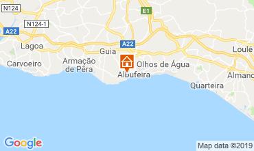Mappa Albufeira Villa  120050