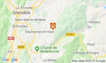 Mappa Chamrousse Appartamento 116984