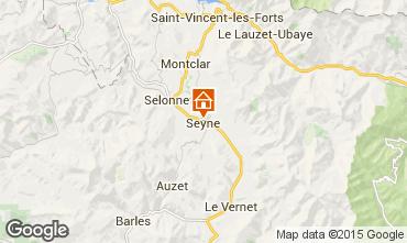 Mappa Seyne les Alpes Casa 568